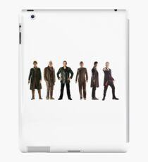 Doctor Who Lineup iPad Case/Skin