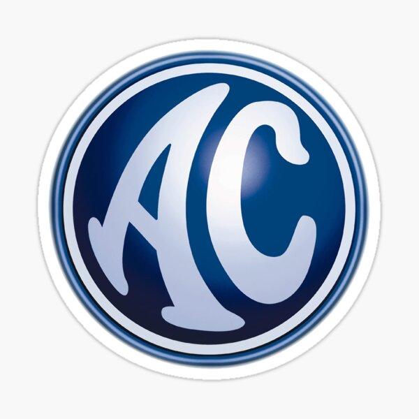 AC Cars Badge Sticker Decal Car Vinyl 50mm x2 Cobra 427 Shelby
