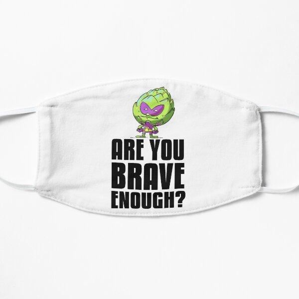 Artichoke Alien Are You Brave Enough? Foodietoon Superhero Planet 9 Flat Mask