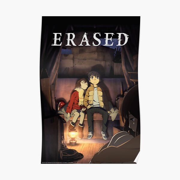 Erased Cover Poster