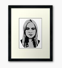Etta Bishop - Resist Framed Print