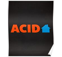 Acid house posters redbubble for Acid house songs