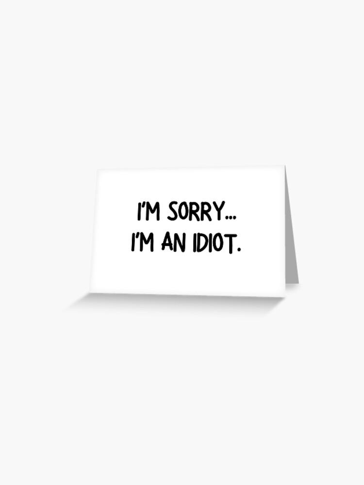 Die besten entschuldigungssprüche