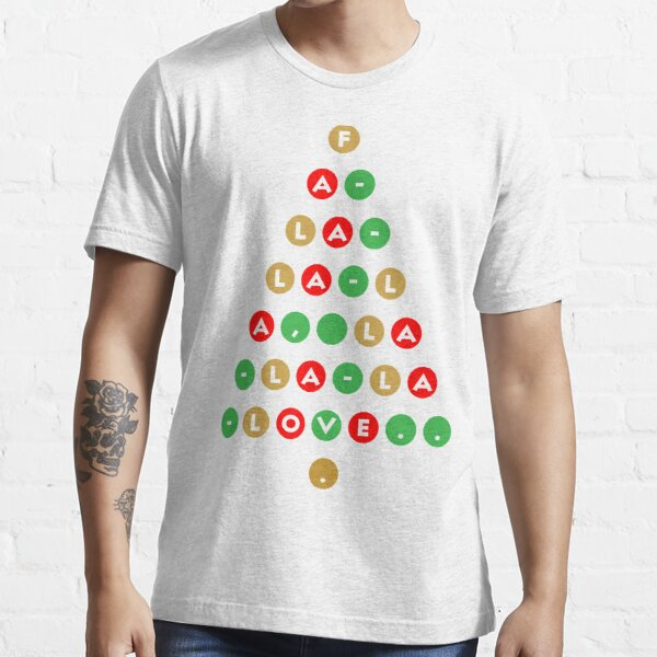 Christmas - Fa-la-la-la, la-la-la-love... ugly sweater Essential T-Shirt