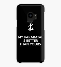 My Parabatai is better than yours (WHITE) Case/Skin for Samsung Galaxy