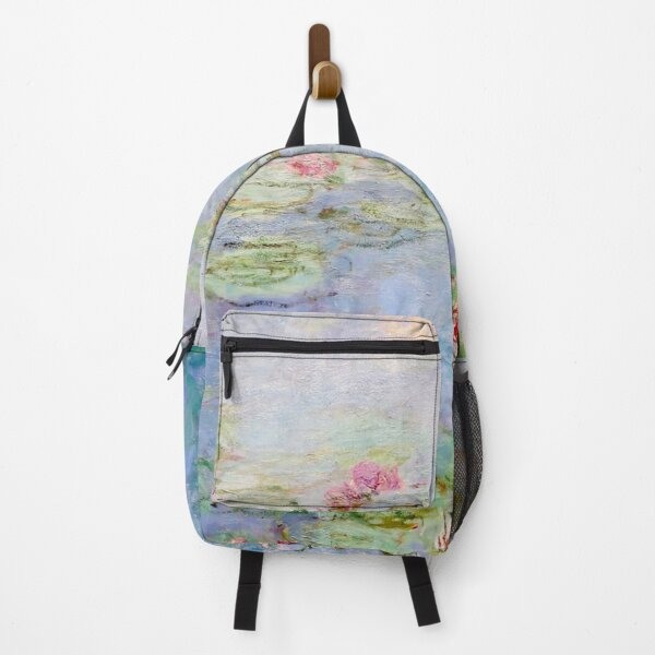 Claude Monet | Les Nympheas Rouges - Red Water Lilies Backpack