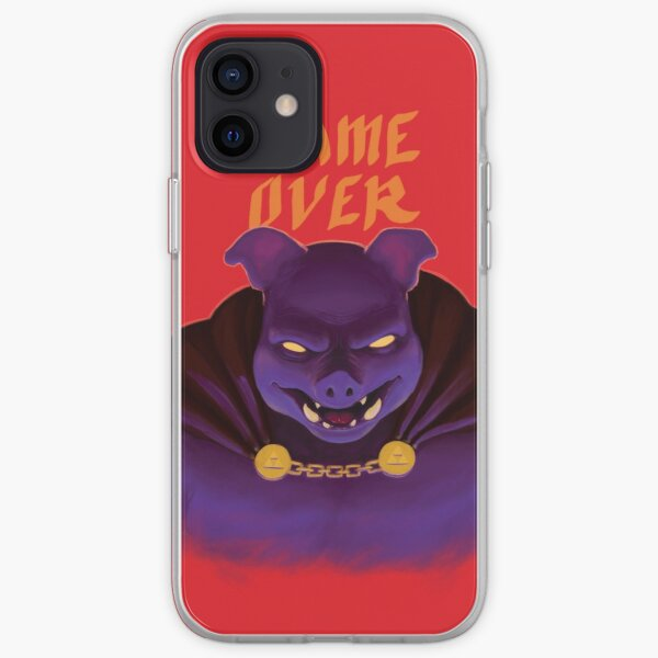 Game Over iPhone Soft Case