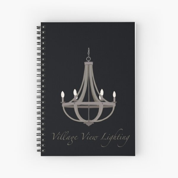 Village View Lighting  Spiral Notebook