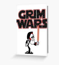 Grim Wars Greeting Card