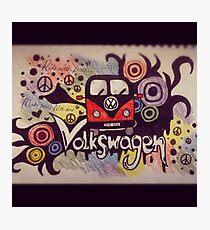 Volkswagen Mashup Photographic Print