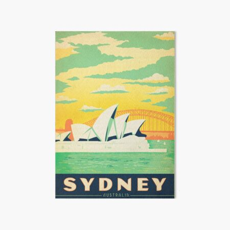 Sydney, Australia gift Art Board Print