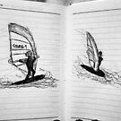Windsurf Doodle. by kirsten-designs