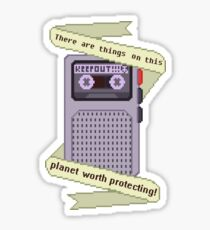 Peridot things worth protecting  Sticker