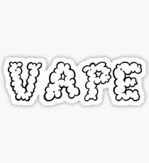 Vape Logo Sticker