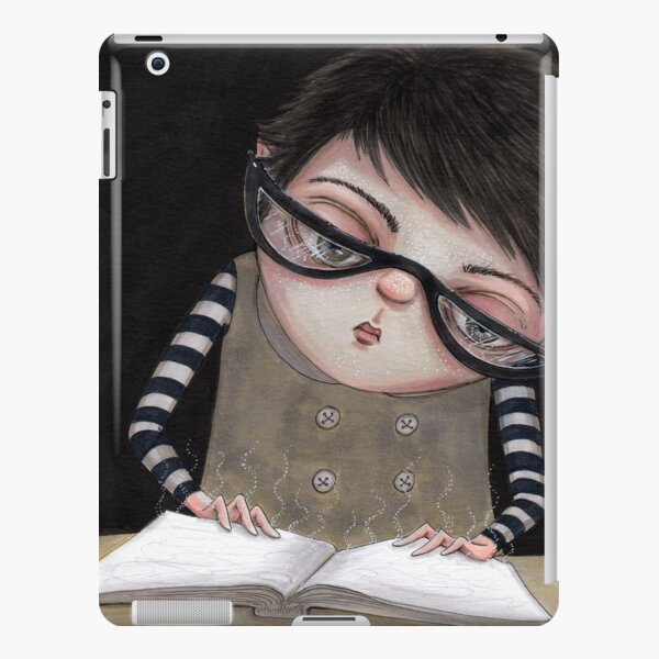 Zoey Reading the Book of Magic iPad Snap Case