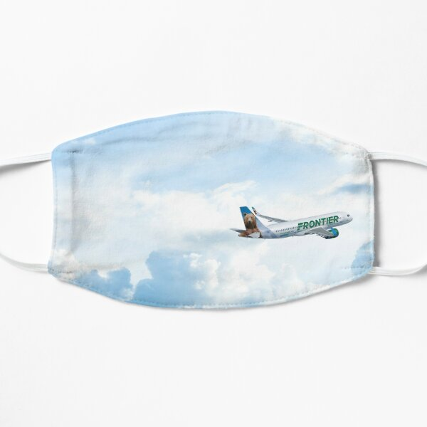 Plane in the Clouds Mask