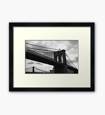 Gotham Winter Framed Print