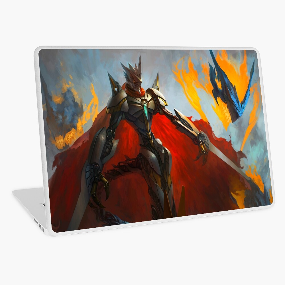 Jesmon The Royal Knight Digimon Realistic Art Laptop Skin By Drwolfstark Redbubble Get notified when digimon royal knights oneshots and scenarios is updated. jesmon the royal knight digimon realistic art laptop skin by drwolfstark redbubble