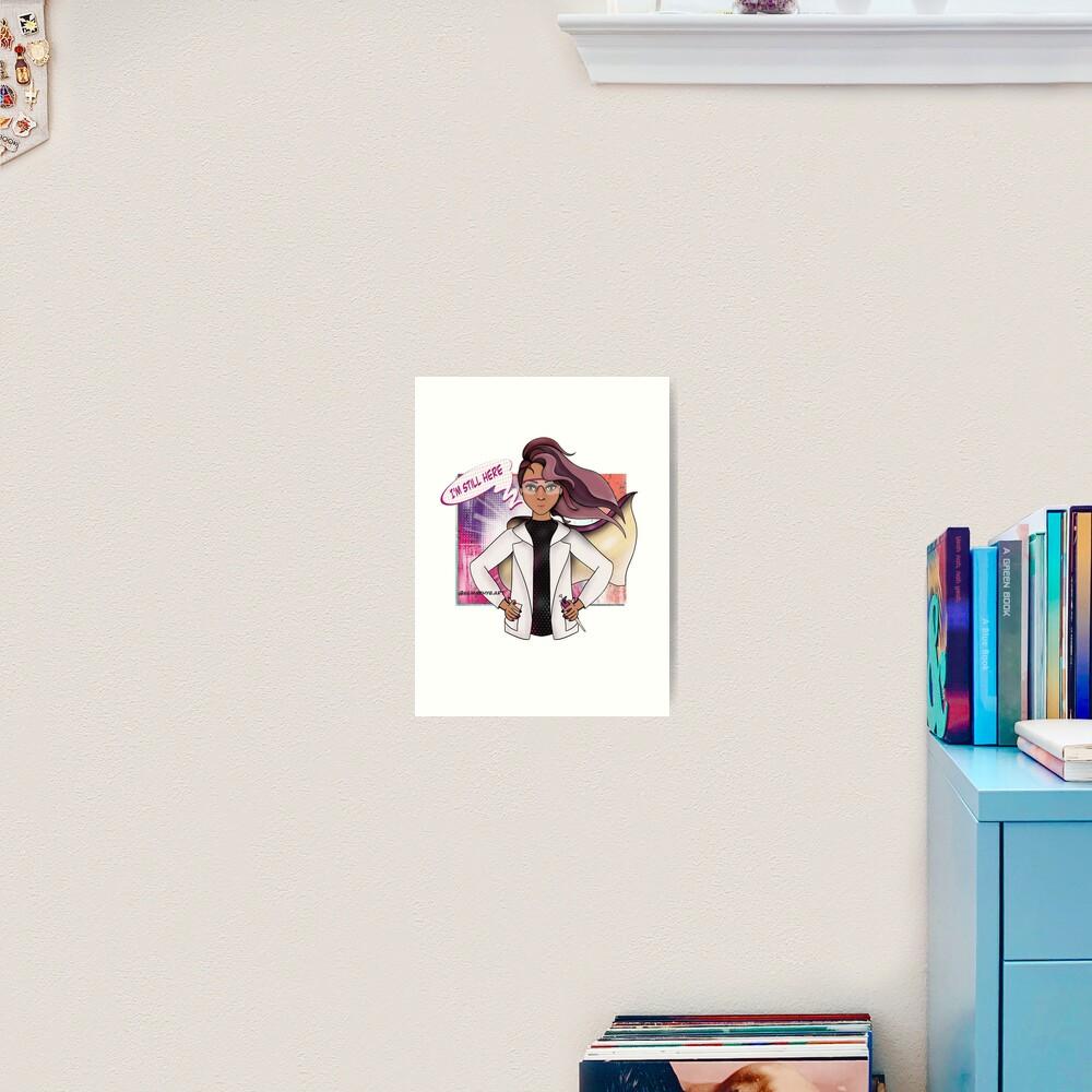 Super Scientist (#7) Art Print