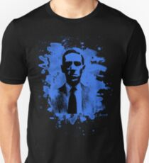 H. P. Lovecraft Tribute (blue) T-Shirt
