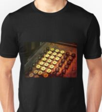 Antique Adding Machine Keys - photography Unisex T-Shirt