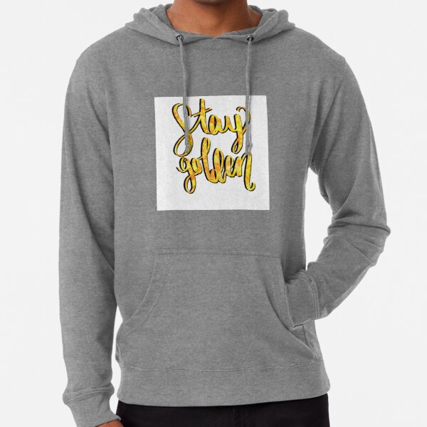 Stay Gold Ponyboy Sweatshirts Hoodies Redbubble Johnny now senses the uselessness of fighting; redbubble