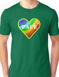 Peace Rainbow Heart VRS2 T-Shirt