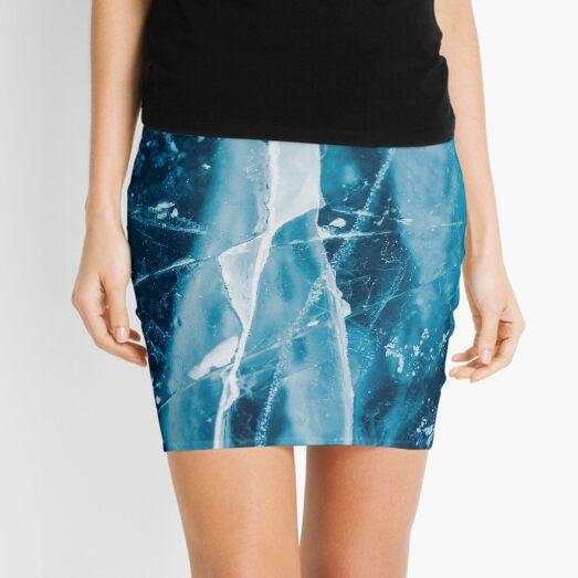 Ice Cracks Mini Skirt