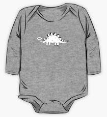 Cartoon Stegosaurus One Piece - Long Sleeve