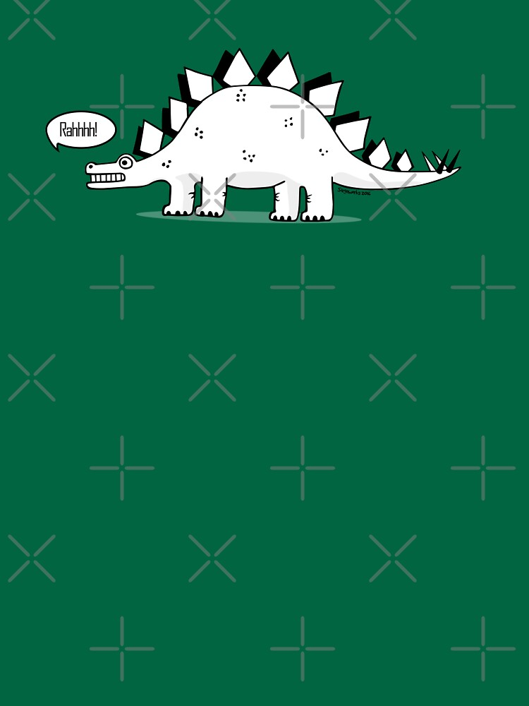 Cartoon Stegosaurus | Unisex T-Shirt