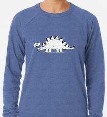Cartoon Stegosaurus Leichter Pullover