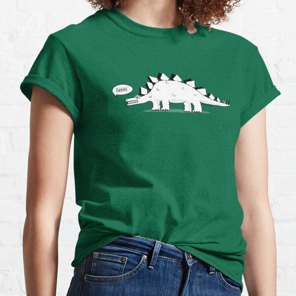 Cartoon Stegosaurus Classic T-Shirt