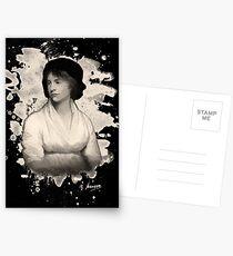 Mary Shelley (Wollstonecraft) Tribut Postkarten
