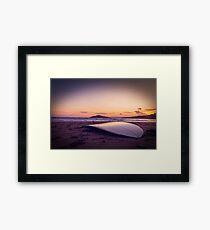 Surfboard Framed Print