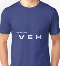 2001 A Space Odyssey - HAL 900 VEH System Unisex T-Shirt