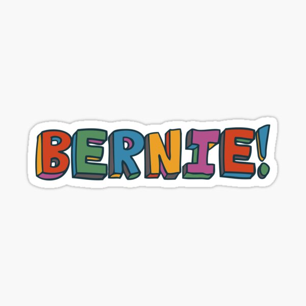 Bernie Sanders for President Sticker