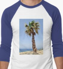 Palm Tree Baseball ¾ Sleeve T-Shirt