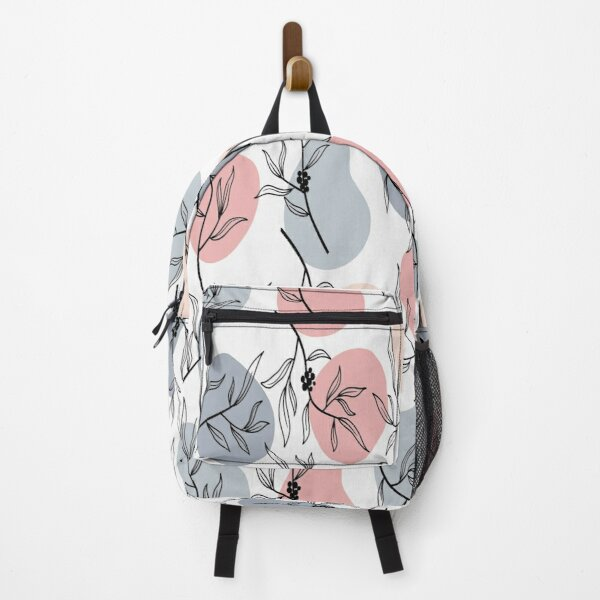 geomatric line pattern Backpack