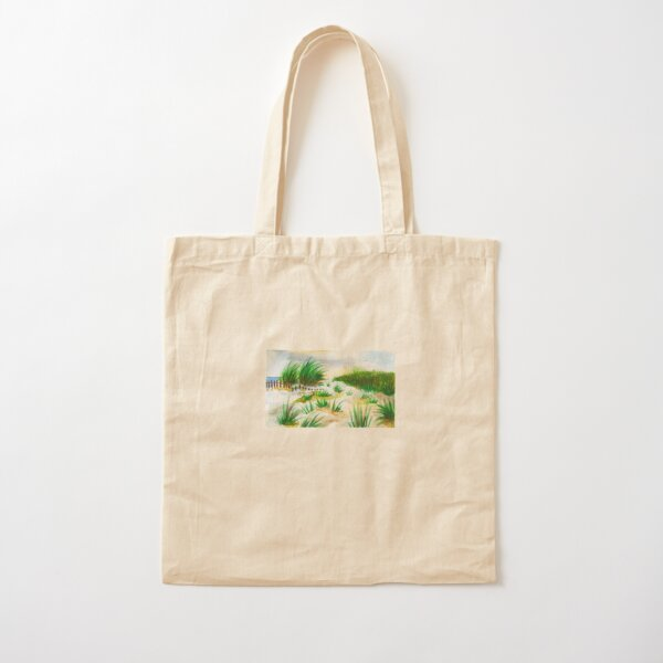 Shore Dunes Cotton Tote Bag
