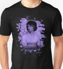 Mary Shelley (Wollstonecraft) Tribute (violet) Unisex T-Shirt
