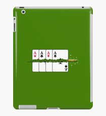 Shoot the Deck of Cards VRS2 iPad Case/Skin