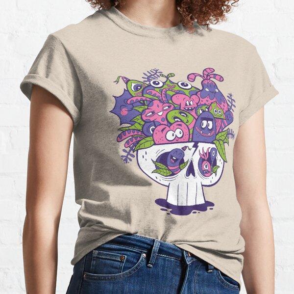 Creature Doodle Skull Classic T-Shirt