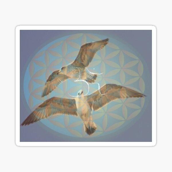 Seagulls pair om Sticker