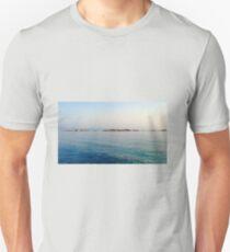 Rocks in Paphos Harbour Slim Fit T-Shirt
