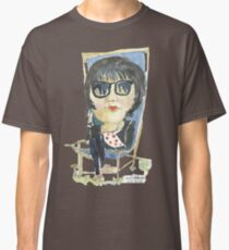 Girl in the city park Classic T-Shirt