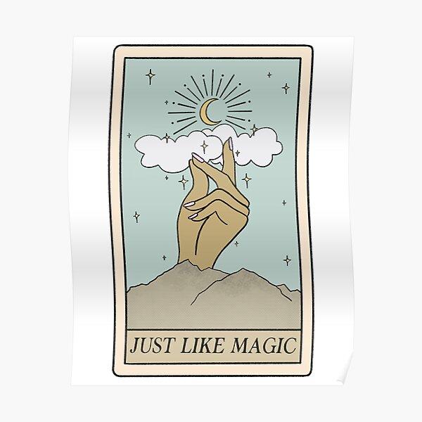 Just Like Magic ariana tarot card - shade 2 Poster