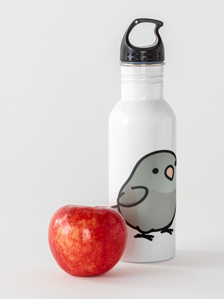 Alternate view of Chubby Gray Parrotet Water Bottle