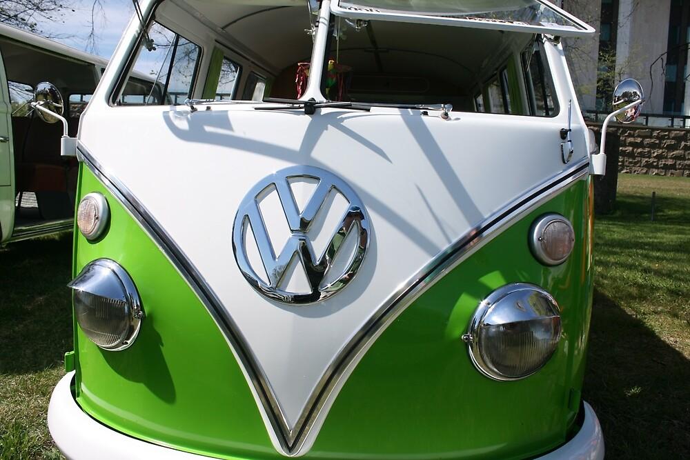Bug eyed VW Kombi Van by BenBob68