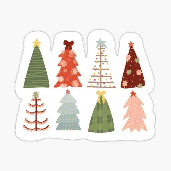 O Christmas Tree Glossy Sticker