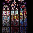 The Metropolitan Cathedral of Saints Vitus, Wenceslaus and Adalbert (Czech: metropolitní katedrála svatého Víta, Václava a Vojtěcha).no3. by © Andrzej Goszcz,M.D. Ph.D